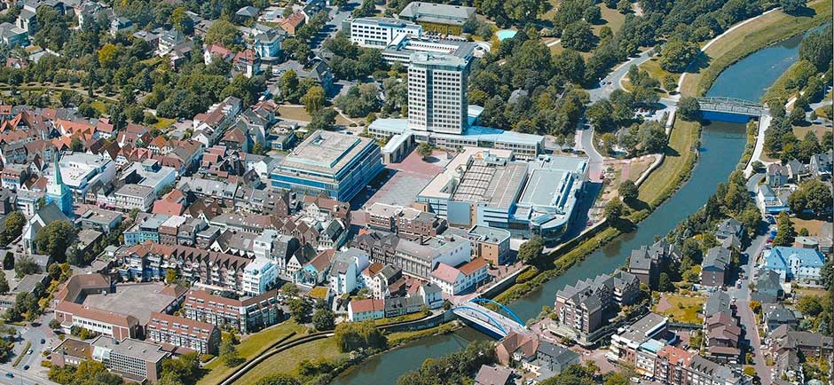 Innenstadt-Lünen-Luftaufnahme